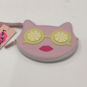 Betsey Johnson coin purse wristlet